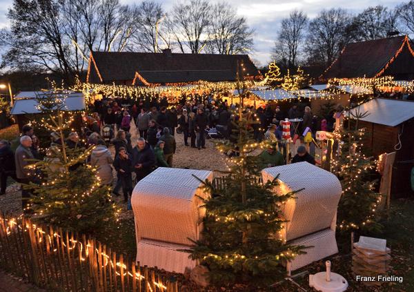 tierpark nordhorn absoluter besucherrekord bei tierpark weihnachtsmarkt. Black Bedroom Furniture Sets. Home Design Ideas