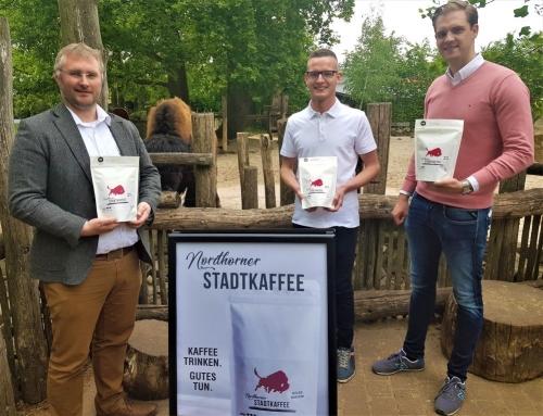 Kaffee trinken für Bildung und Naturschutz –  Nordhorn bekommt eigenen Kaffee