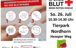 Blutspenden im Tierpark Nordhorn