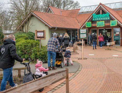 Tierpark Nordhorn weiterhin geöffnet